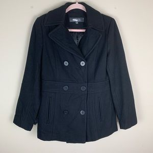Kenneth Cole Reaction Double Breasted Peacoat 6